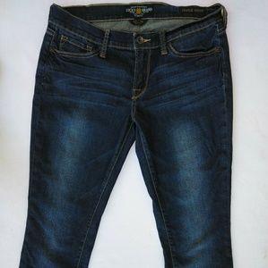 Women's Lucky Brand Charlie Skinny Jeans size 10
